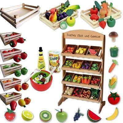 puesto de juguete tienda accesorios alimentos frutas
