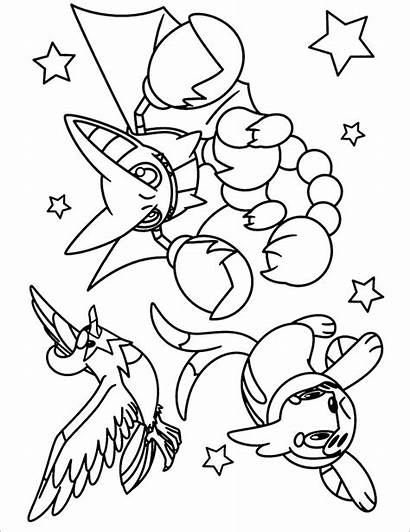 Pokemon Coloring Printable Pages Pdf Colouring Legendary
