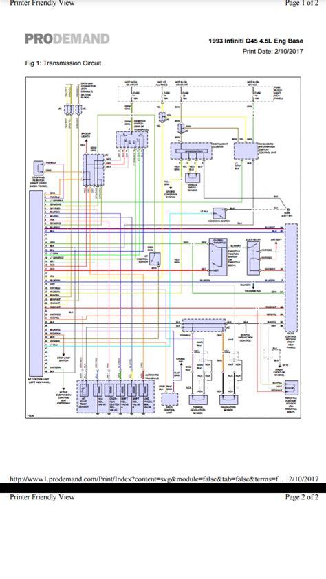can i get vh45de auto trans wiring diagram