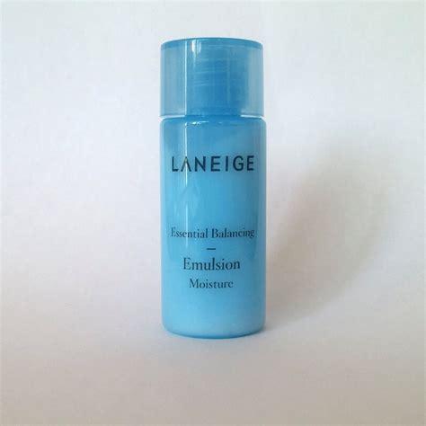 laneige essential balancing emulsion moisture 15ml 0 51oz x 10ea 11street malaysia moisturisers