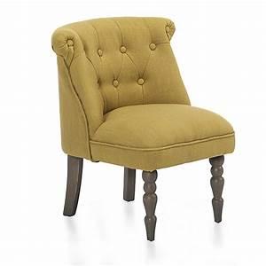 Petit Fauteuil Jaune : petit fauteuil style crapaud jaune mini chanteloup d coration int rieur alin a ~ Teatrodelosmanantiales.com Idées de Décoration