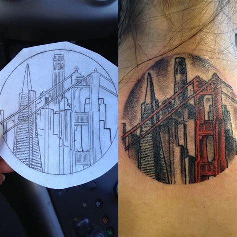 awesome city tattoo  tattoo design ideas