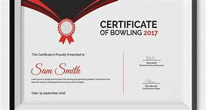 certificates of appreciation templates for word 5 bowling certificates psd word designs design