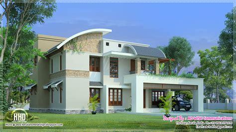 Home Design Exterior App Three Fantastic House Exterior Designs Kerala Home Design And Floor Plans