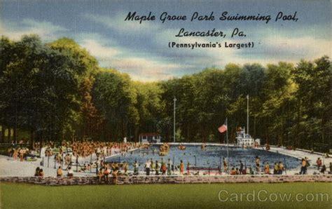 Maple Grove Park Swimming Pool Lancaster, Pa