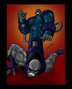 Apocalypse vs. Darkseid by J-Onix on DeviantArt