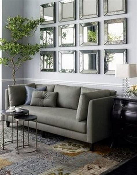 Latest modern living room wall decorating ideas with wall niches and recessed lighting home interior wall decor trends 2020 living room wall design ideas. 20 Best Ideas Large Mirrors for Living Room Wall   Mirror Ideas