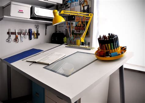 make a diy drafting table from an ikea desktop ikea