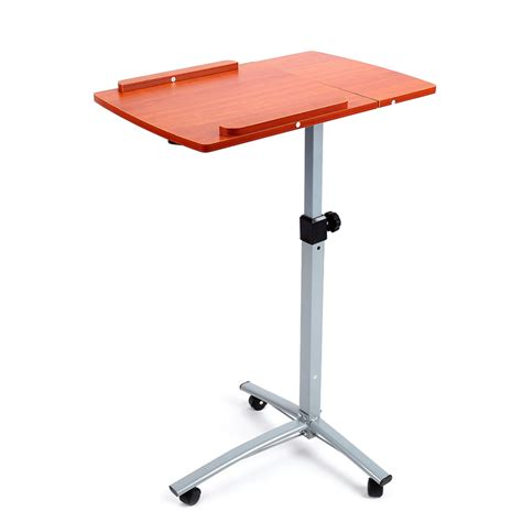 Adjustable Portable Height Notebook Desk Over Bed Sofa