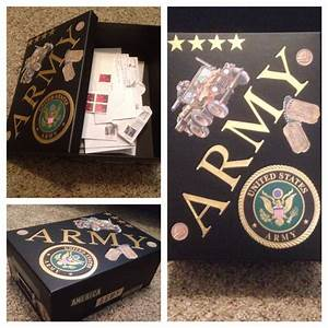 207 best images about army strong through and through With box to keep letters in
