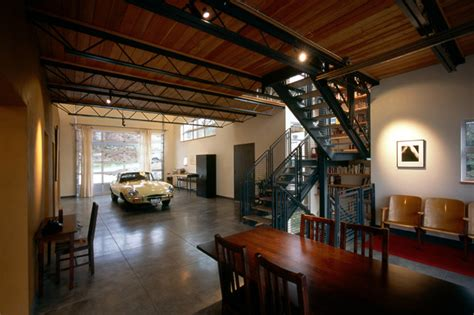 fremont livework industrial garage  shed seattle  kevin spence architect aia