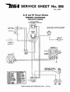 Negative Bsa Ground Wiring Diagram
