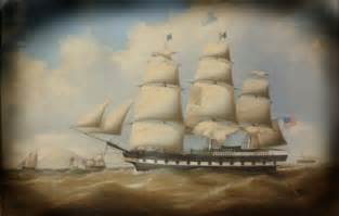 New England Colonial Time Ships