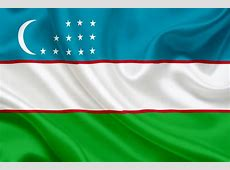 National flag of Uzbekistan, Uzbekistan