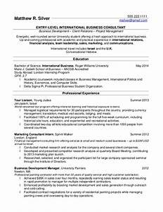 resume samples for college students and recent grads With college student resume template