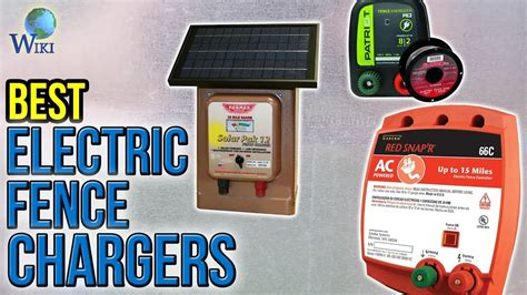 Best Electric Fence Chargers Youtube