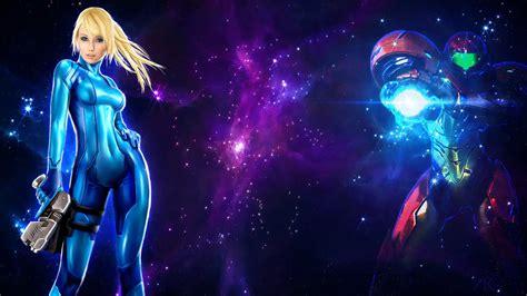 Samus Aran Space Wallpaper By Akarl47 On Deviantart