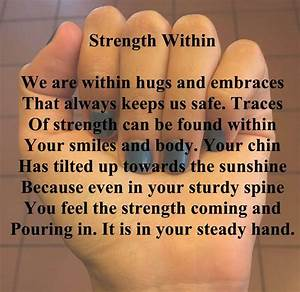 Upbeat, Inspirational, Poems, Strength, Within