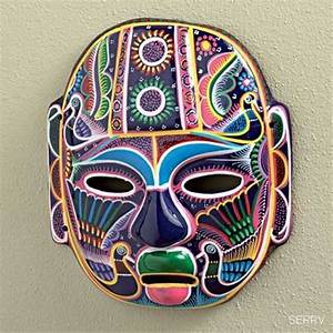Mexican mask Sephari's travelers collectibles By