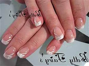 Déco French Manucure : ongles en gel french blanc ~ Farleysfitness.com Idées de Décoration
