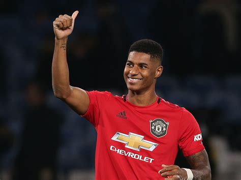 He plays as a forward for manchester united and the england national team. Marcus Rashford Receives Award For Raising Millions During COVID-10 Crisis | Complex UK