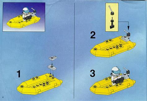 Lego Boat Step By Step by Lego Resq Boat 6451 Resq