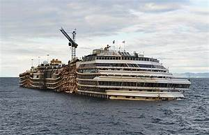 Photos: The remains of the Costa Concordia