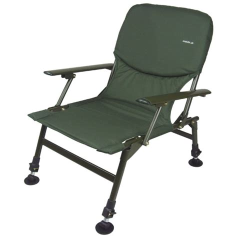 Abode® Carp Fishing Camping Chair, Bed, Bedchair, Blanket