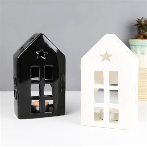 Ceramic House by Ceramic House Tealight Holder By