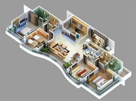 bedroom apartmenthouse plans  floor plans
