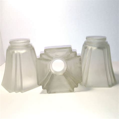 replacement ceiling fan light shades 3 modern frosted glass shades light fixture ceiling fan