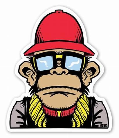 Sticker Bobby Master Mix Stickers Monkey Stickerapp