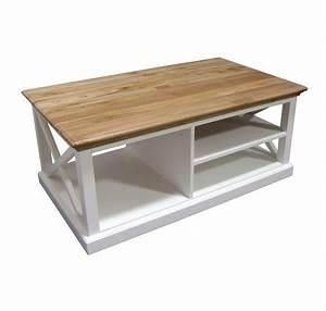 Table Basse Blanc Bois : table basse bois blanc table basse table pliante et table de cuisine ~ Teatrodelosmanantiales.com Idées de Décoration