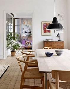 la salle a manger scandinave en 67 photos archzinefr With salle À manger contemporaine avec style scandinave bleu