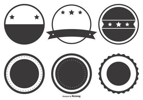 blank retro badge shapes   vectors clipart graphics vector art