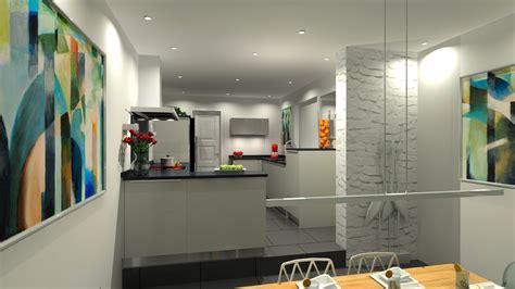 cuisine en parall鑞e plan de cuisine ouverte sur salle manger finest faons de faire une cuisine ouverte with plan de cuisine ouverte sur salle manger top cuisine