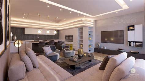 Modern Villa Interior Design In Dubai  2019 Year  Spazio
