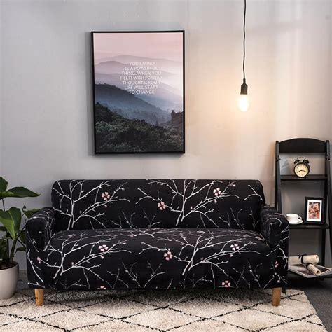 Living Room Furniture Covers by Universal Slip Covers Sectional Elastic Stretch Sofa Cover