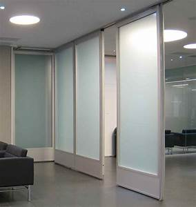 movable glass doors-glass wall-Hufcor WORK - Student