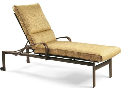 chaise alu winston belvedere cushion aluminum chaise lounge with wheels wsm29009