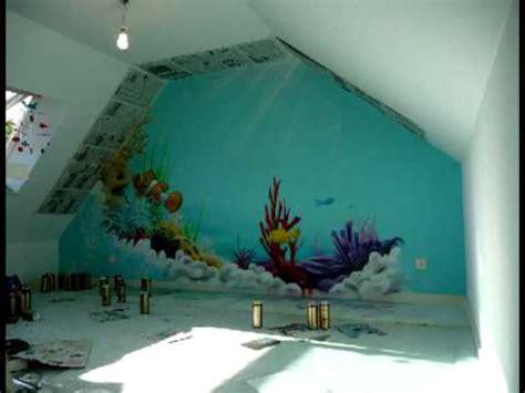 graff chambre aérosoleil fresque deco graff chambre d 39 enfant thème