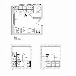 2D CAD Laundry Room Design Layout CADBlocksfree CAD