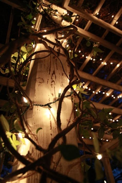 String Lights On Deck Ideas