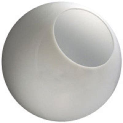 replacement light globes 14 inch white acrylic replacement l post globes with 5