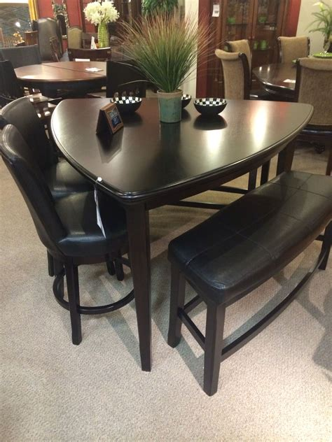 kitchen tables furniture triangle table from homemakers kitchen nook dining