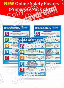 Pack Of 10 Online Safety Posters  U2013 Daydream Education