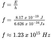 Energy Of Light Equation by Practice Calculating Energy Of Electromagnetic Waves