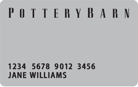 Pottery Barn Kids Credit Card