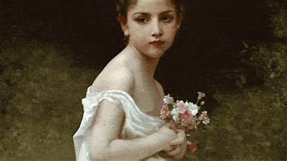 Bouguereau William Adolphe Animated Classic Beauty Paintings