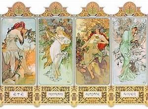 Achat Citronnier 4 Saisons : puzzle en bois mucha alfons les quatre saisons puzzle ~ Premium-room.com Idées de Décoration